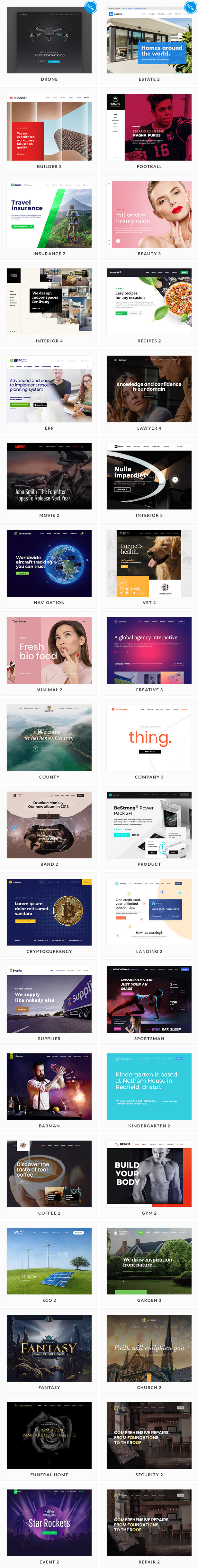 قالب چند مظوره بی 21.1.4 | BeTheme – Responsive Multi-Purpose